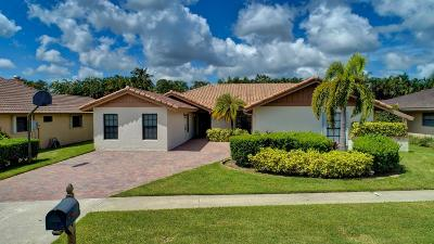 Boca Raton Single Family Home For Sale: 7091 San Sebastian Circle