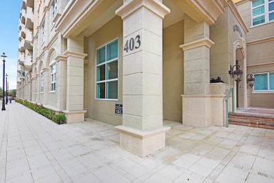 West Palm Beach Condo For Sale: 403 S Sapodilla Avenue #301