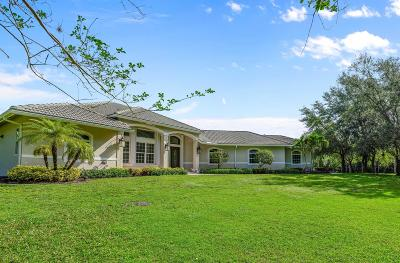 Jupiter Single Family Home For Sale: 2885 SE Ranch Acres Circle