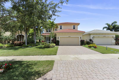 Palm Beach Gardens Single Family Home For Sale: 12304 Aviles Circle