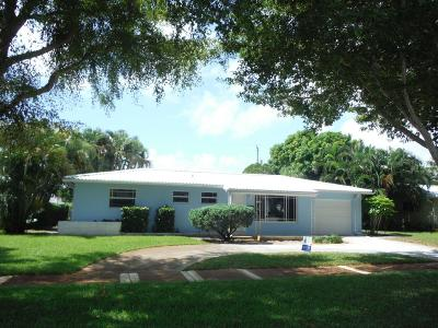 North Palm Beach Single Family Home For Sale: 724 Teal Way