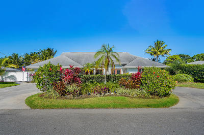 Tequesta Single Family Home For Sale: 270 Golfview Drive