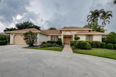 Delray Beach Single Family Home Contingent: 3260 Riviera Drive