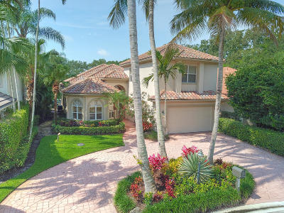 Palm Beach Gardens Single Family Home For Sale: 3394 Degas Drive W