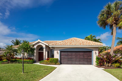Palm Beach Gardens Single Family Home Contingent: 2491 Monaco Terrace