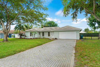 Boynton Beach Single Family Home Contingent: 936 SW 37th Court
