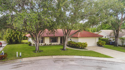 Jupiter Single Family Home For Sale: 172 Bayberry Circle