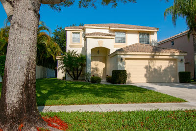 Royal Palm Beach Single Family Home For Sale: 2096 Reston Circle