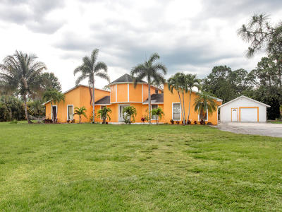 Palm Beach Gardens Single Family Home For Sale: 14409 66th Trail
