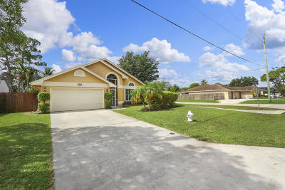 Jupiter Single Family Home For Sale: 6158 Linton Street