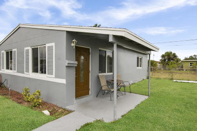 West Palm Beach Single Family Home Contingent: 1140 W 3rd Street