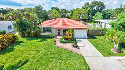 Delray Beach Single Family Home For Sale: 228 NE 17th Street