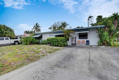 Pompano Beach Single Family Home For Sale: 4271 NE 11th Terrace