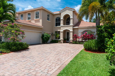 Palm Beach Gardens Single Family Home For Sale: 201 Sedona Way