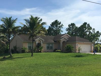 Loxahatchee Single Family Home For Sale: 14616 74th Street