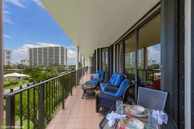 Boca Raton Condo For Sale: 1401 S Ocean Boulevard #408