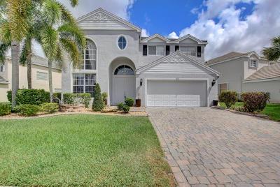 Royal Palm Beach Single Family Home For Sale: 229 Kensington Way