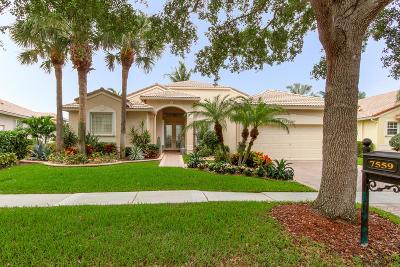 Boynton Beach Single Family Home For Sale: 7559 Monticello Way