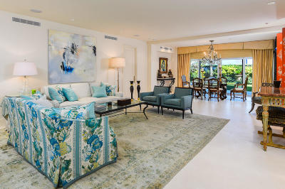Palm Beach Condo For Sale: 300 S Ocean Boulevard #1c