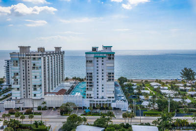 Pompano Beach Condo For Sale: 1010 S Ocean Boulevard #Ph10
