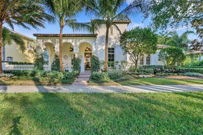 Jupiter Single Family Home For Sale: 109 Valencia Boulevard