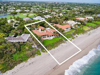 North Palm Beach Single Family Home For Sale: 11784 Turtle Beach Road