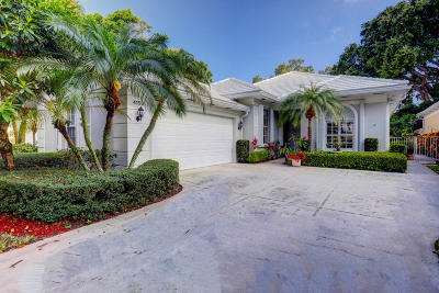Palm Beach Gardens Single Family Home For Sale: 4153 Lazy Hammock Road
