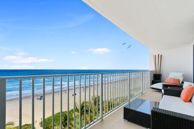 Boca Raton Condo For Sale: 3000 S Ocean Boulevard #804