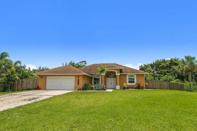 Loxahatchee Groves Single Family Home For Sale: 15326 San Diego Drive