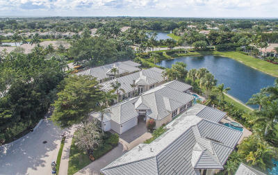 Palm Beach Gardens Single Family Home For Sale: 122 Victoria Bay Court