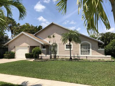 Boca Raton Single Family Home For Sale: 22591 Sawfish Terrace