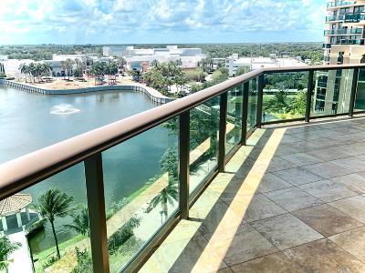 Palm Beach Gardens Condo For Sale: 3610 Gardens Parkway #801a