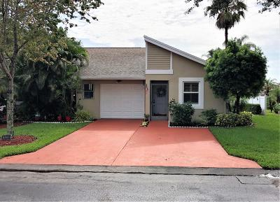 Boca Raton Single Family Home For Sale: 18700 Candlewick Drive