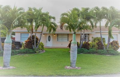 Lake Worth Single Family Home Contingent: 6794 S 19th Drive S