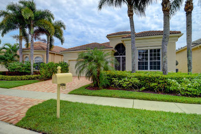 Delray Beach Single Family Home For Sale: 15354 Fiorenza Circle