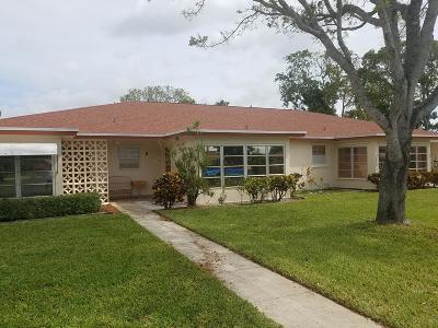 Delray Beach Single Family Home Contingent: 4525 NW 3rd Street #B