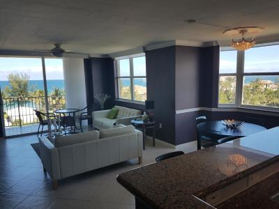 Highland Beach Club, Highland Beach Club Condo, Highland Beach Club Condominium Rental For Rent: 3594 S Ocean Boulevard #707