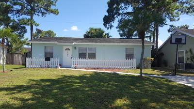 Jupiter Single Family Home For Sale: 6180 Kendrick Street