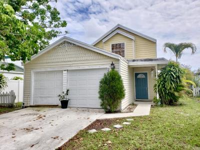 West Palm Beach Single Family Home For Sale: 5960 Snowdrop Way