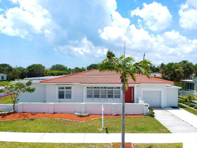 West Palm Beach Single Family Home For Sale: 326 Palmetto Street