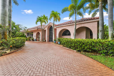 Hobe Sound Single Family Home For Sale: 5130 SE Lost Lake Way