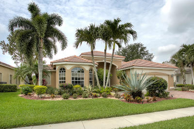 Lake Worth Single Family Home For Sale: 9748 Via Verga Street