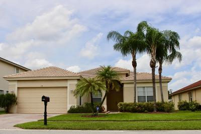 Royal Palm Beach Single Family Home Contingent: 133 Tuscany Drive