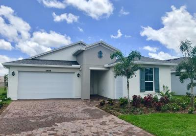 Port Saint Lucie Single Family Home For Sale: 10088 SW Coral Tree Circle
