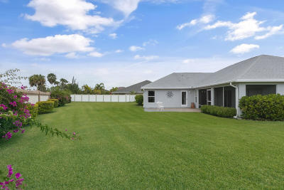 Vero Beach Single Family Home For Sale: 920 Southlakes Way SW