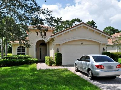 Saint Lucie West Single Family Home For Sale: 7121 Maidstone Drive
