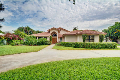 Delray Beach Single Family Home For Sale: 3897 Sherwood Boulevard