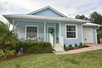 Palm City Single Family Home Contingent: 1003 SW 35th Street