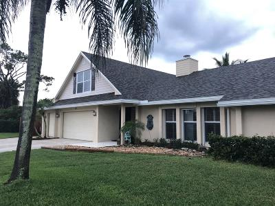 Tequesta Single Family Home Contingent: 67 Fairview West