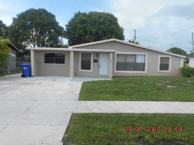 Pompano Beach Single Family Home For Sale: 731 NW 17th Court